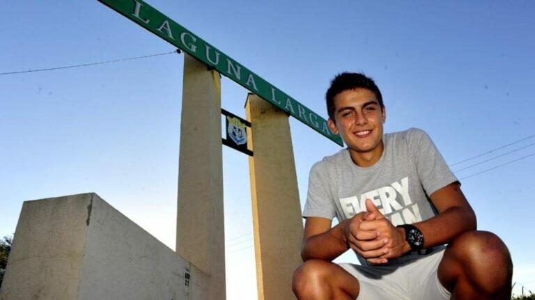 Paulo Dybala a Laguna Larga